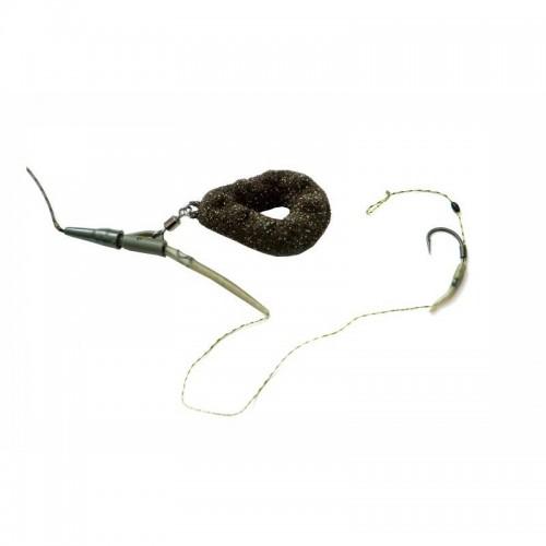 Montura Leadcore 45 lbs, Plumb Pierdut 90 gr, Carlig Hayabusa nr 5, Karp, A107